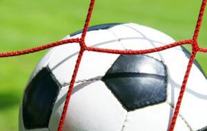 Fussball im Tor