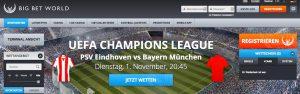 Wett-News: Big Bet World akzeptiert nur noch Spieler aus Deutschland