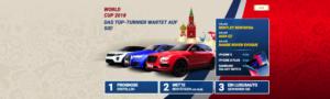 Wettbonus heute: Jetzt bei 1xbet mit eurer Fußball-WM-Prognose Luxusautos und andere tolle Preise gewinnen!