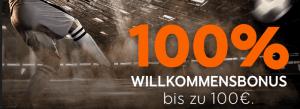 888sport bonus 100 prozent auf 100 euro