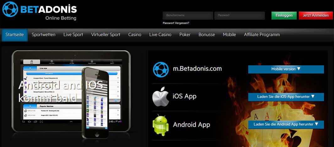 BetAdonis-App