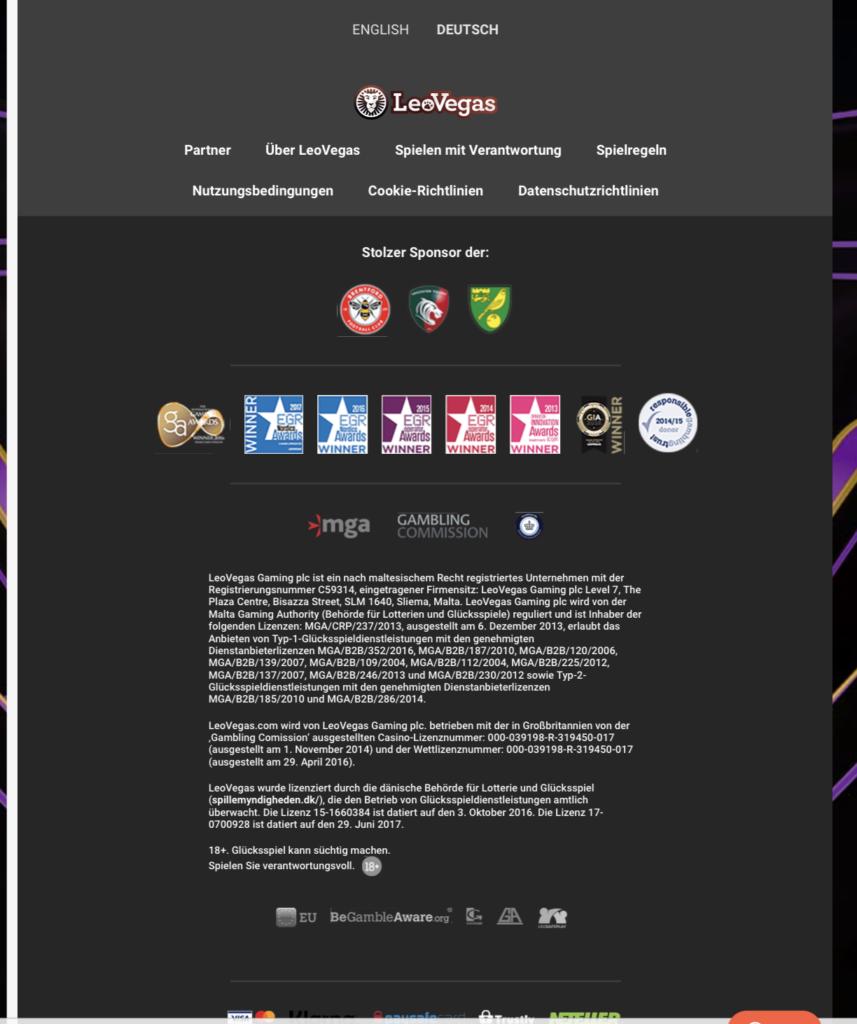 LeoVegas eSports Erfahrungen und Bewertung 2019