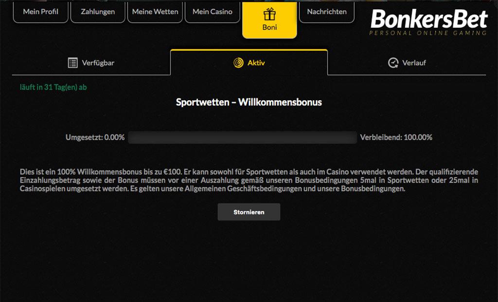 BonkersBet Sportwetten Erfahrungen – Test & Bewertung 2021