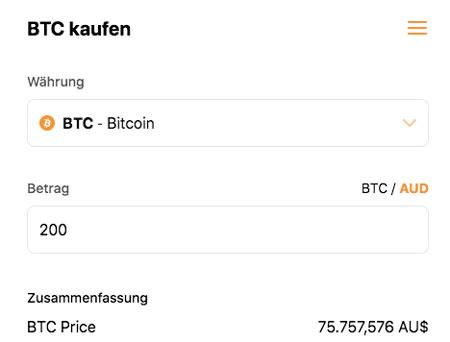Bitcoin kaufen bei Cloudbet