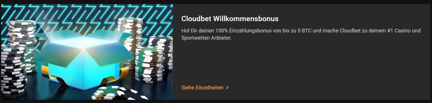 Cloudbet Bonus - Dogecoin Wetten