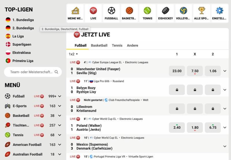 FEZbet Sportwetten Erfahrungen – Test & Bewertung 2021
