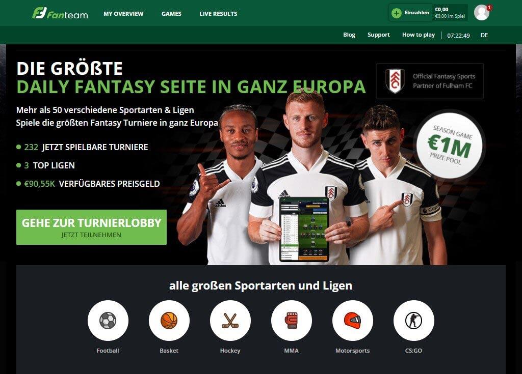 FanTeam Sportwetten – Erfahrungen und Bewertung 2021