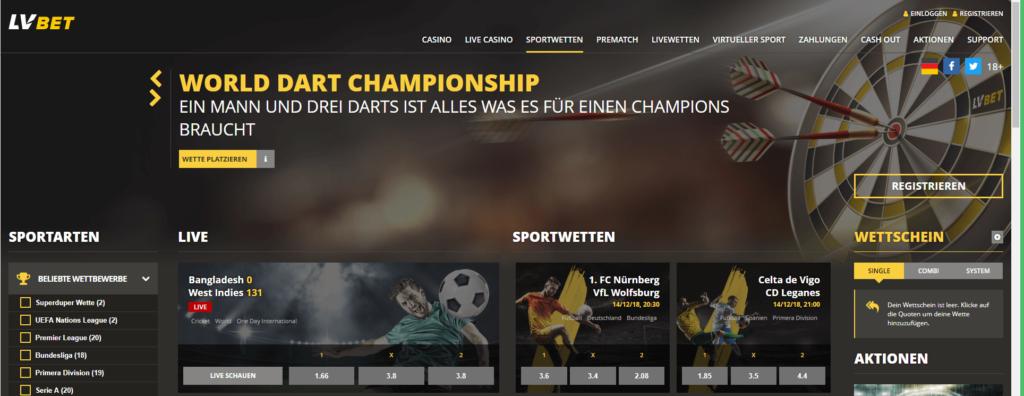 LVBet Sportwetten – Erfahrungen und Bewertung