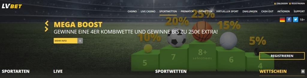 LVBet Sportwetten Erfahrungen – Test & Bewertung 2021