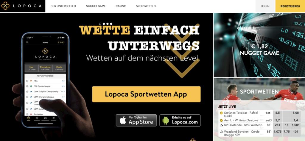 LOPOCA Sportwetten Erfahrungen – Test & Bewertung 2021
