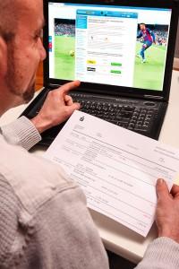 Einzahlung beim Wettanbieter mit Lastschrift und ELV