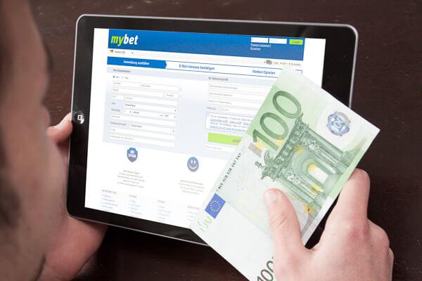 mybet Anmeldung – Registrierung mit 100 Euro Bonus