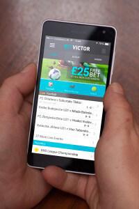 BetVictor Mobile App für iPhone, iPad und Android