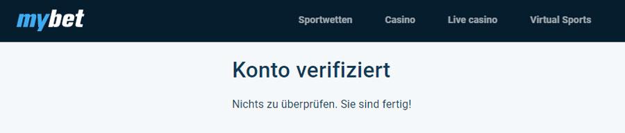 mybet Sportwetten – Erfahrungen und Bewertung 2021