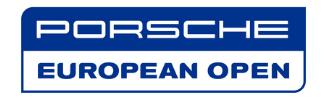 Logo Porsche European Open