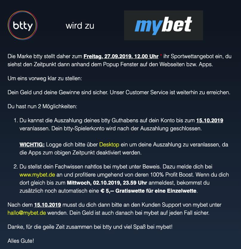 Btty Sportwetten Erfahrungen – Test & Bewertung 2021