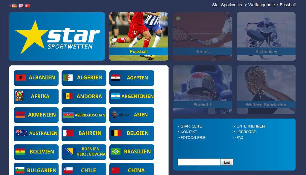 Star Sportwetten Kurzvorstellung und Bewertung (Offline-Wettanbieter)