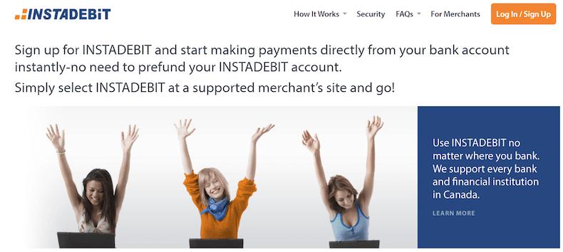 INSTADEBIT Zahlungen
