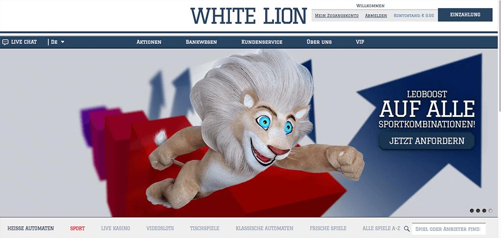 White Lion Sportwetten Erfahrungen – Test & Bewertung 2021