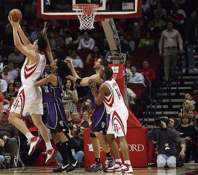 Houston Rockets gegen die Sacramento Kings in einem NBA Match - Wetten auf NBA