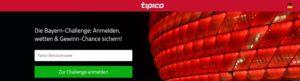 Wett-Bonus heute: Jetzt gewinnen mit der Bayern-Challenge bei Tipico!