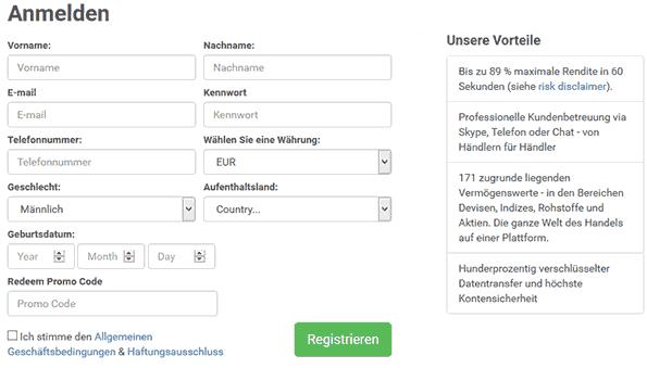 BDSwiss Anmeldung – Wie funktioniert die Registrierung?
