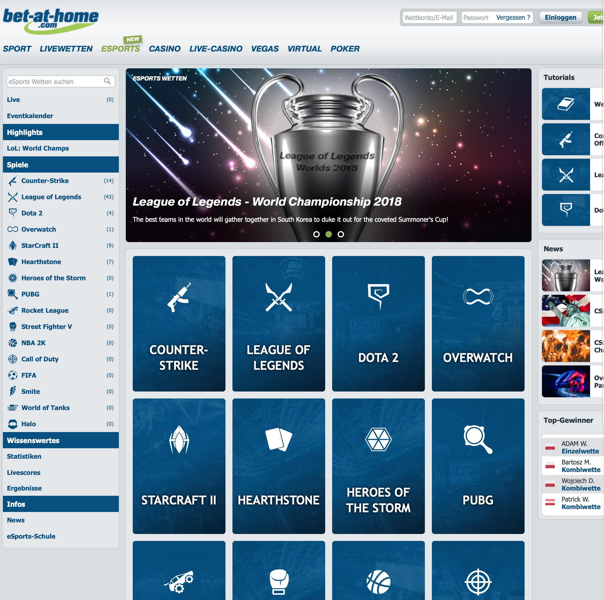 bet-at-home eSport