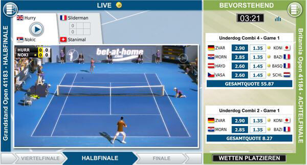 Virtual Tennis bei bet-at-home (Quelle: bet-at-home)