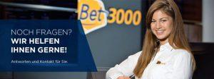 Bet3000 – Einzahlungen, Limits und Methoden