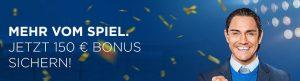 Wett-Bonus heute: Jetzt 150 EUR Neukundenbonus bei Bet3000!