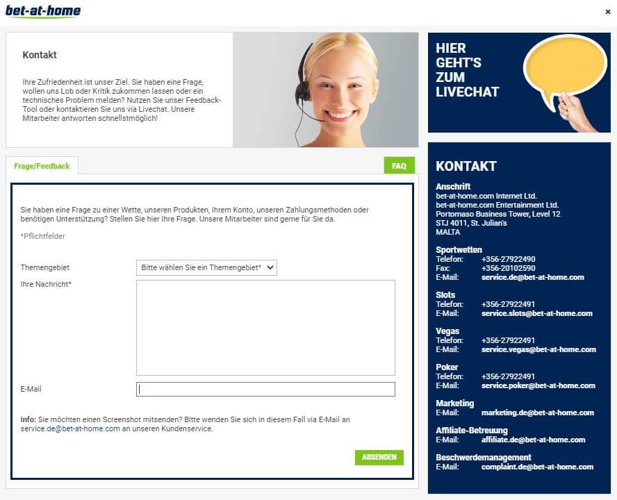 bet-at-home Sportwetten – Erfahrungen und Bewertung 2021