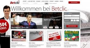 Betclic Bonus – 100 Euro Gratiswette sichern