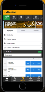 Betfair Sportwetten – Erfahrungen und Bewertung