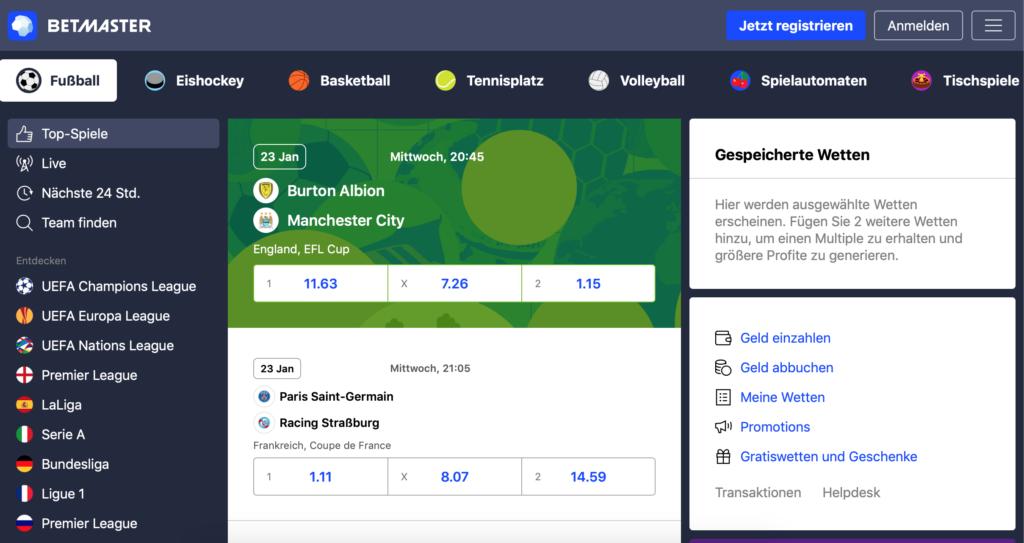 Betmaster.com Sportwetten – Erfahrungen und Bewertung  2019