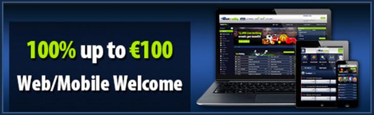 Einen Bonus von 100% bis 100 € gibt's bei Betrally (Quelle: Betrally)