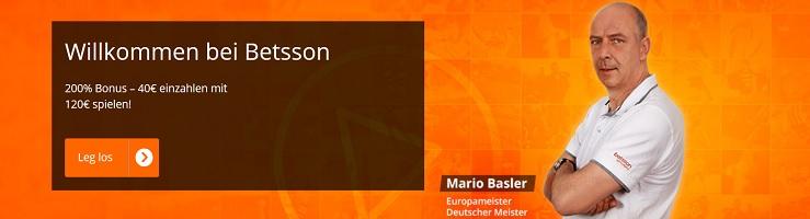 Betsson Livestream Bonus