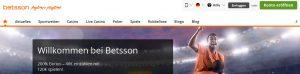 Betsson Kundenservice & Support: Test und Bewertung