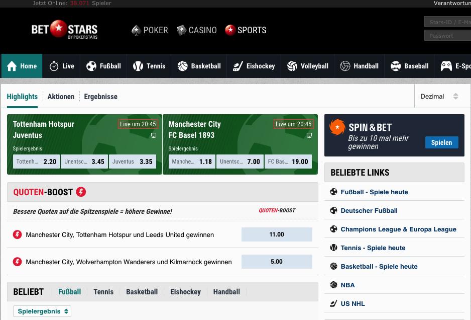 BetStars Sportwetten – Erfahrungen und Bewertung