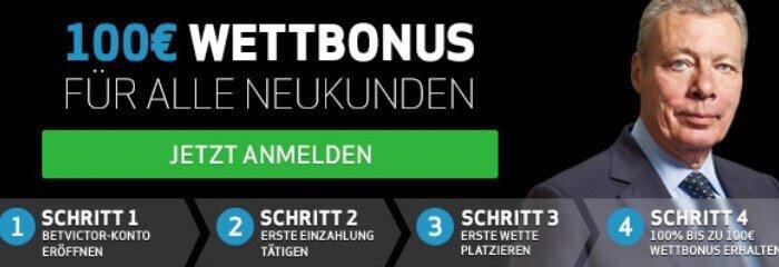 BetVictor Bonus 2016 – bis zu 25 Euro Gutschein einlösen