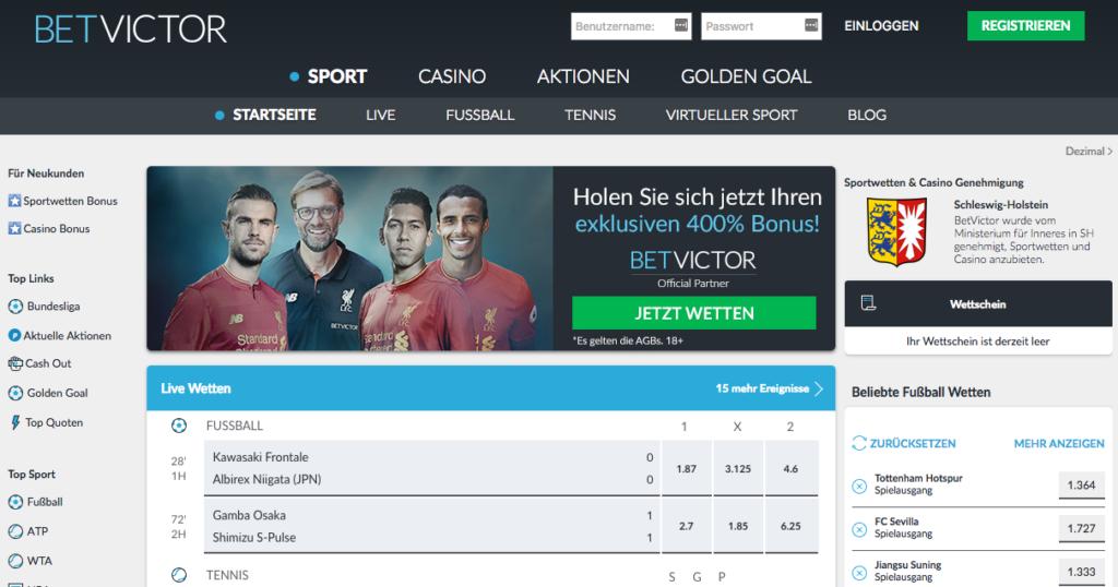 BetVictor Sportwetten – Erfahrungen und Bewertung