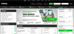 Betway Bundesliga-Wetten: Quoten, Test und Erfahrungen