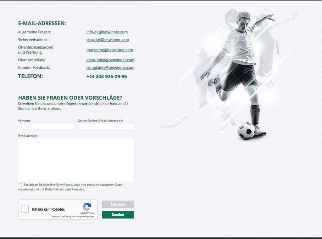 BETWINNER Sportwetten Erfahrungen – Test & Bewertung 2021
