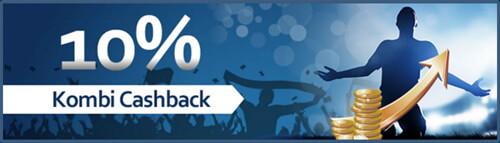 Jeden Montag 10% Kombi-Cashback Bonus (Quelle: Betworld)