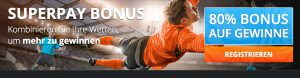 Wettbonus des Tages: Big Bet World mit Superpay-Bonus
