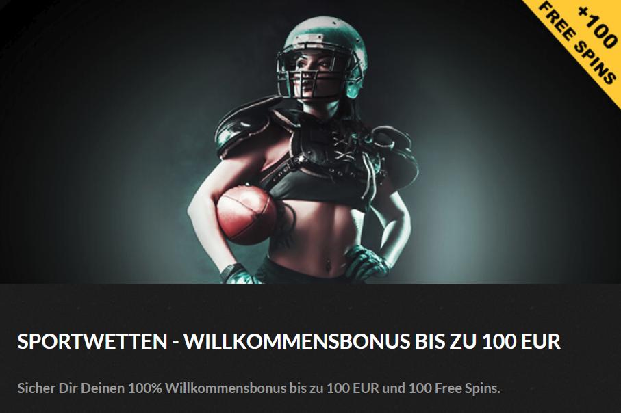 Bonkersbet Bonus – bis zu 100 Euro Bonus einlösen!