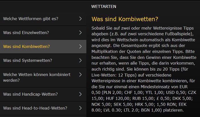 bwin Systemwetten & Kombiwetten: Alle Infos & Tipps