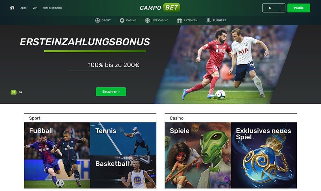 CampoBet Sportwetten Erfahrungen – Test & Bewertung 2021