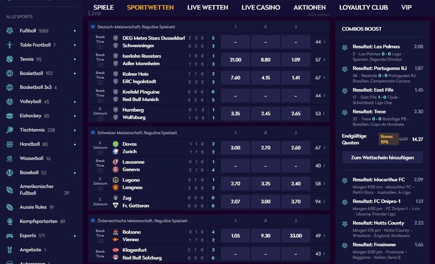 Casino 360 Sportwetten – Erfahrungen und Bewertung 2021