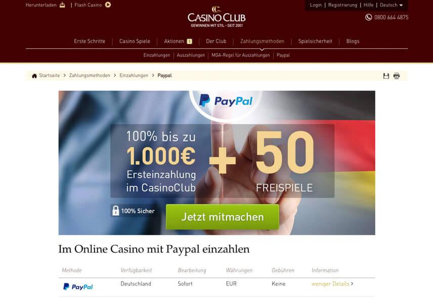 Online Casino PayPal: Ist Ein- und Auszahlung möglich?