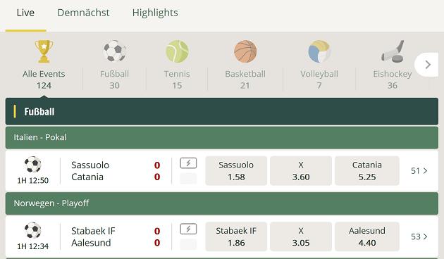 Cherry Casino Sportwetten – Erfahrungen und Bewertung